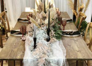 Altholztische Hochzeit Mieten