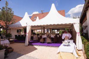 Pagdenzelte, Hochzeit im Zelt, Zelthochzeit