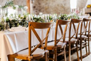 Crossback Chairs Hochzeitsstuhl
