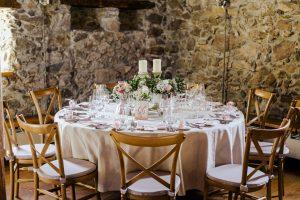 Crossback Stühle Hochzeit