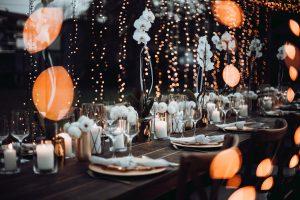 Mietmöbel Holztische Hochzeit