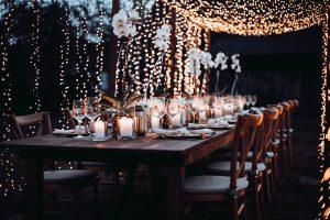 Holztische mieten Hochzeit