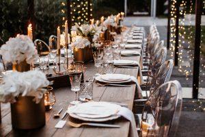 Holztische Hochzeit mieten